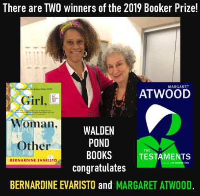 Book Award Winners and Nominees at Walden Pond Books